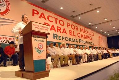 Clausurará titular de la SAGARPA los trabajos del XXII Congreso Extraordinario de la CNC, en Tamaulipas