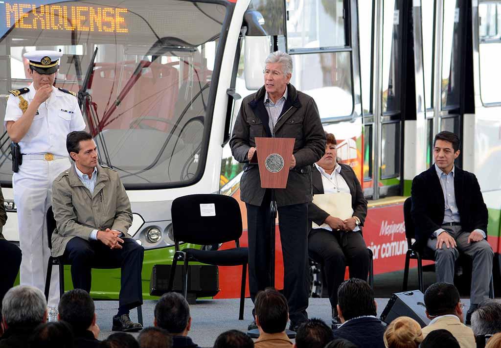 MEXIBÚS II, concreta el gran sistema de transporte masivo para el Estado de México