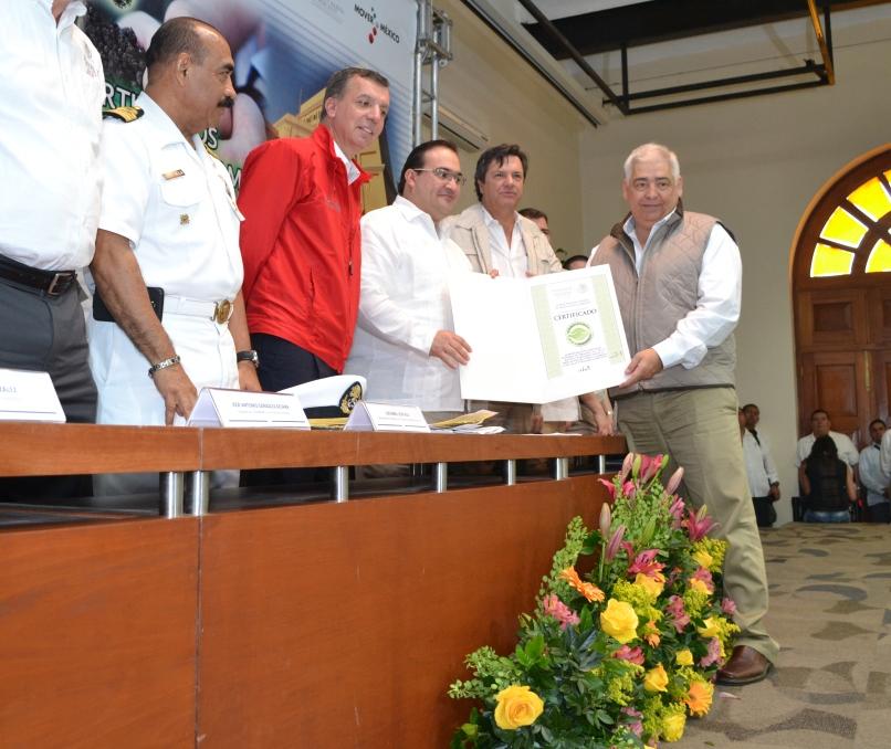 Operan puertos con visión sustentable y respeto al medio ambiente: GRT