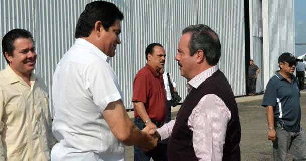 Inicia secretario Enrique Martínez y Martínez evaluación de daños en sector agropecuario y pesquero de Sinaloa