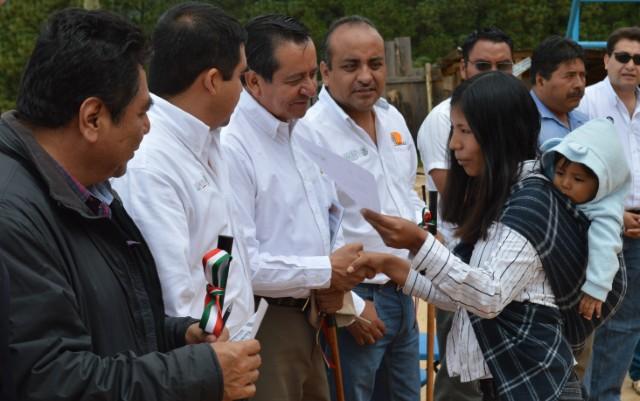 Canaliza SAGARPA 430.7 millones de pesos en el PESA para pequeños productores de zonas marginadas de Oaxaca