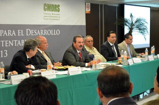 Destacan en Consejo Mexicano para el Desarrollo Rural Sustentable beneficios de la Reforma Financiera para el campo