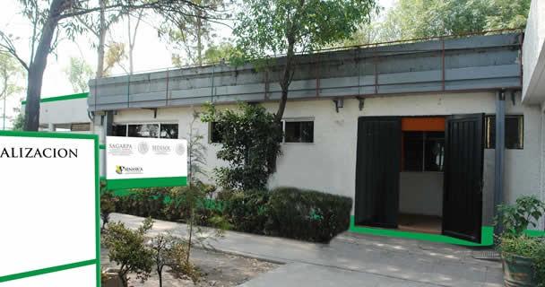 Oficina SAGARPA Central de Abasto DF