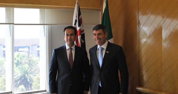 El Subsecretario de Alimentación y Competitividad, Ricardo Aguilar Castillo, resaltó la importancia de impulsar las relaciones económico-comerciales y científico-técnicas entre ambos países.