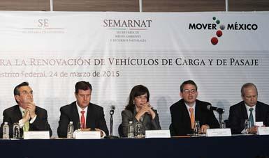 El Programa de Renovación se enfocará  a la participación de prestadores de servicios de autotransporte.