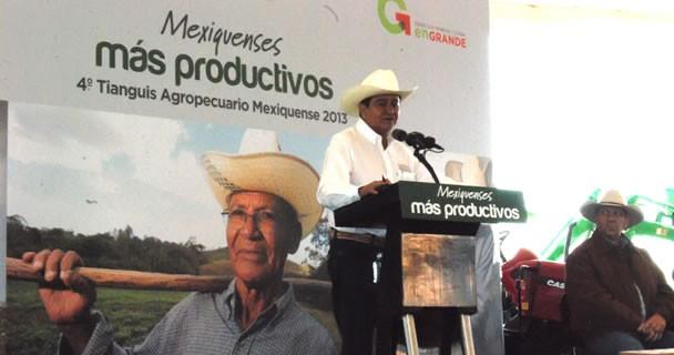 Programas agropecuarios en Estado de México