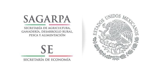 Logos SAGARPA y Economía
