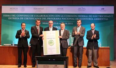 CFE y Profepa firmaron un convenio que obliga a colaborar en la atención de emergencias que pueden dañar el entorno natural.