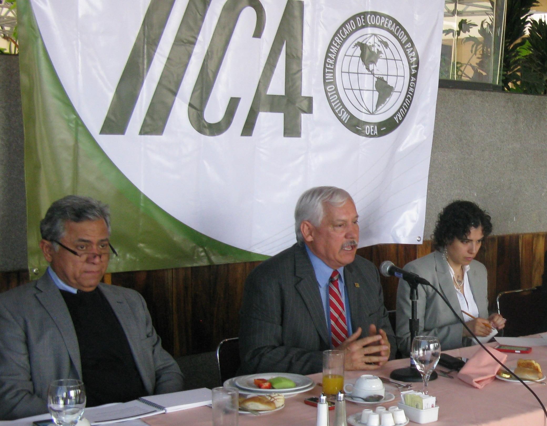 México, a través de la SAGARPA, confirmó su participación, toda vez que a nivel hemisférico se le reconoce su importancia en el manejo y uso de recursos: director general del IICA, Víctor Villalobos Arambula.