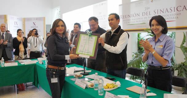 Organismos de la SAGARPA reciben certificación internacional por cuidado ambiental