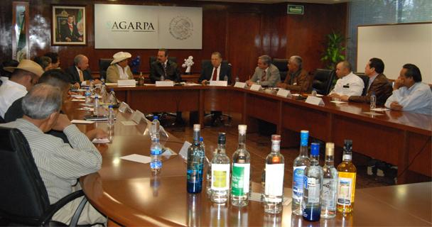 El secretario Enrique Martínez y Martínez aseguró que los cultivos de los que surgen los destilados representan una oportunidad para los productores de zonas geográficas de la montaña o el desierto.