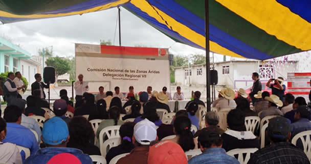 Ejerce CONAZA 15.23 millones de pesos en Proyectos productivos para el estado de Puebla