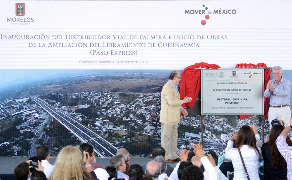 Con obras, la SCT reducirá a sólo una hora traslado del DF a Cuernavaca