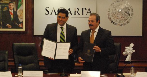 Impulsan SAGARPA y gobierno de Durango proyectos estratégicos