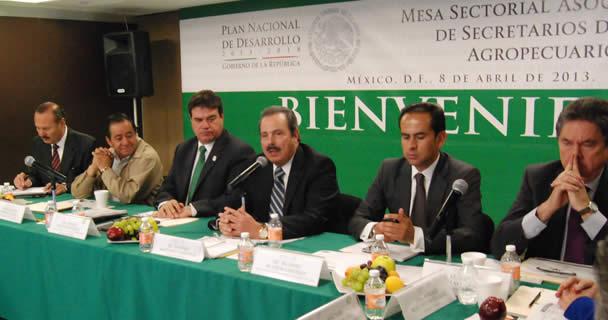 Radica SAGARPA recursos convenidos por más de 5.6 mil millones de pesos