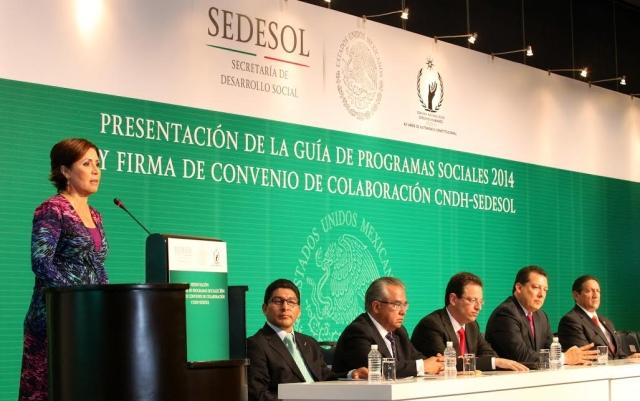 Convenio Sedesol- CNDH