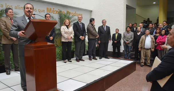 Exhorta Secretario Enrique Martínez y Martínez a sumar esfuerzos para transformar a la SAGARPA