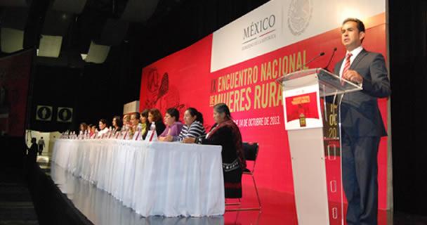 Invierte SAGARPA más de cuatro mil 186 millones de pesos en proyectos productivos encabezados por mujeres del sector rural