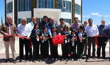 Inauguración del Centro de Educación Ambiental del estado de Durango.
