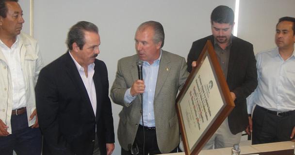 El secretario Martínez y Martínez subrayó que debido al liderazgo y compromiso del Presidente Enrique Peña Nieto