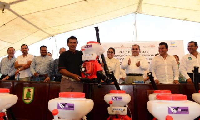 Capacita SAGARPA a cafeticultores de Puebla para el control de la roya