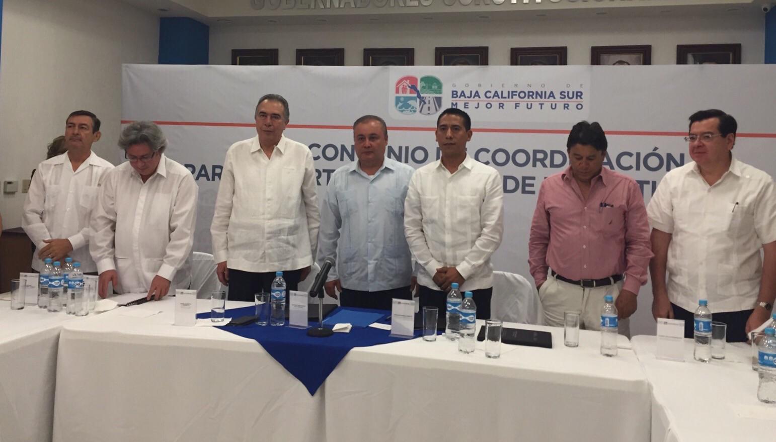 Suscriben JFCA y Junta Local de Baja California Sur Convenio de Coordinación