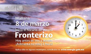 Horario de Verano Fronterizo