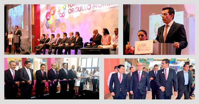 inauguración del Foro Regional PYME 2015 en el estado de Morelos