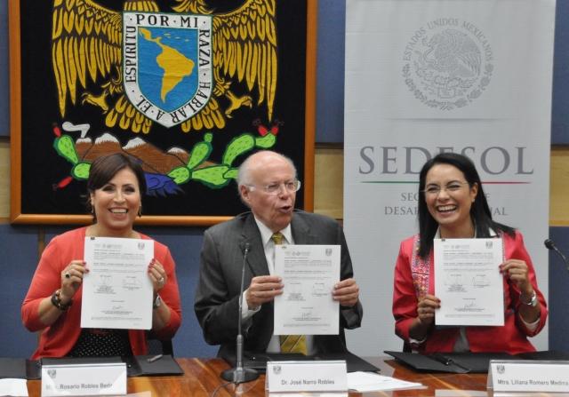 Convenio Fonart-UNAM