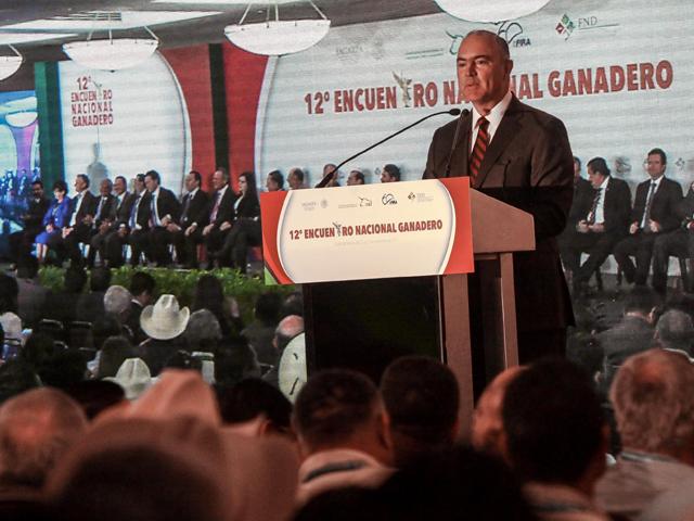 Inauguró el titular de la SAGARPA el XII Encuentro Nacional Ganadero.
