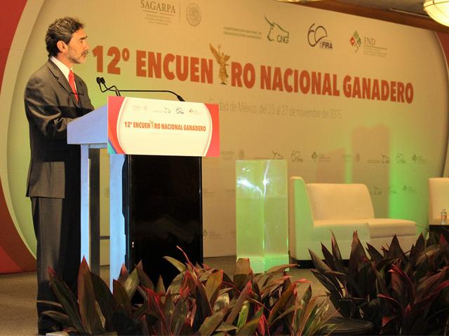 México se consolida como jugador relevante en la ganadería mundial: Gurría Treviño.
