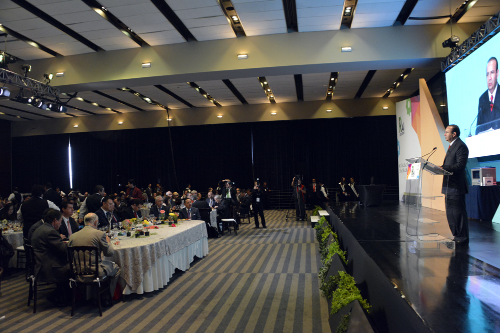El Secretario Alfonso Navarrete Prida externó la contribución de los empresarios de la CONCAMIN para generar un mayor desarrollo económico, empleo digno y productivo.
