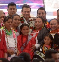 On International Day of Indigenous People, the president announced the government's commitment to implementing a full coverage strategy.