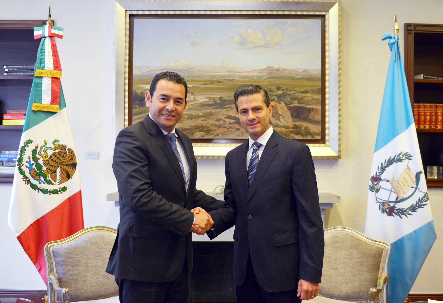 Meeting with president-elect of Guatemala