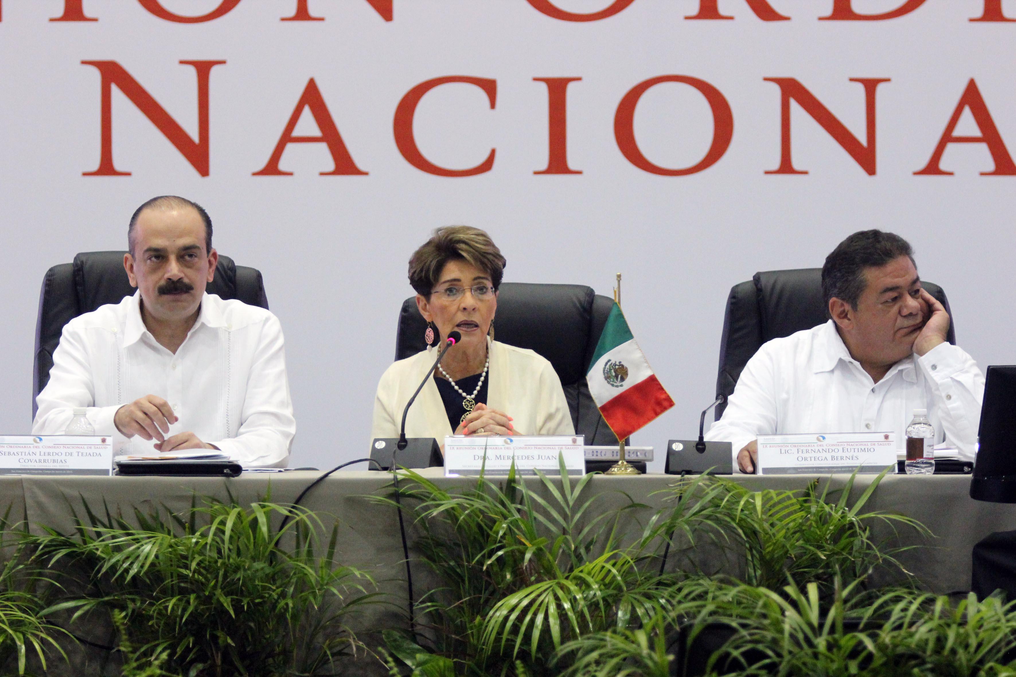 Inauguración del IX Reunión del Consejo Nacional de Salud