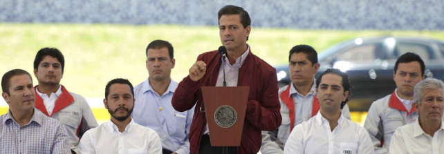 President EPN expresses his willingness to clarify the events in Iguala.