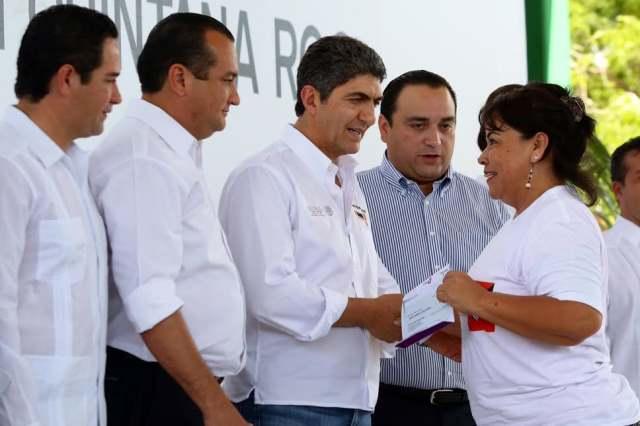 Sedesol en Isla Mujeres, Q. Roo
