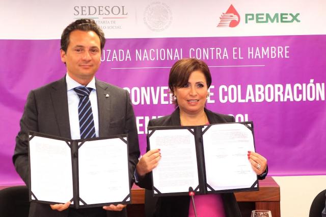 Pemex construirá y equipará 130 comedores comunitarios en Campeche, Tabasco, Tamaulipas y Veracruz, con inversión de 71 millones de pesos.