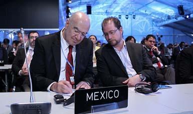 En la 20 Conferencia de las Partes (COP20) Lima, Perú, el Secretario Guerra Abud destacó el interés de concentrar esfuerzos en el combate de emisiones Contaminantes de Vida Corta.