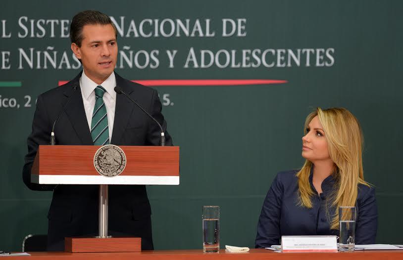 """""""México está avanzando en favor de la sociedad de derechos que quiere"""", refirió el Primer Mandatario."""