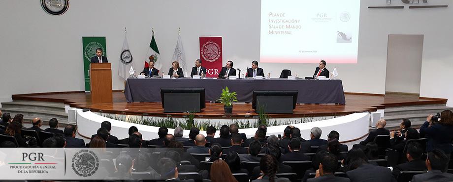 En Procuración de Justicia, indispensable la coordinación, integración, intercambio y uso de la ciencia: Tomás Zerón de Lucio