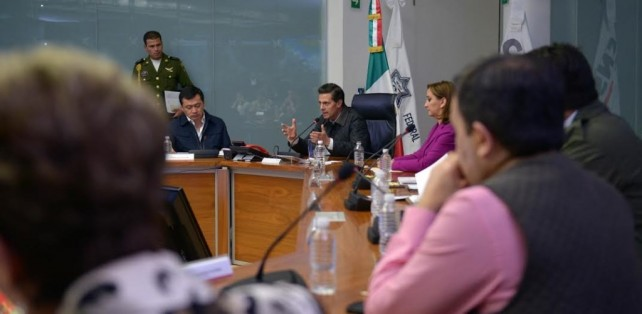 President Peña Nieto instructs Federal Government agencies to remain alert to the presence of Hurricane Patricia