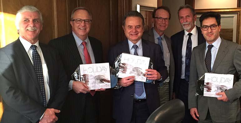 El Secretario de Energía realiza gira de trabajo en Canadá