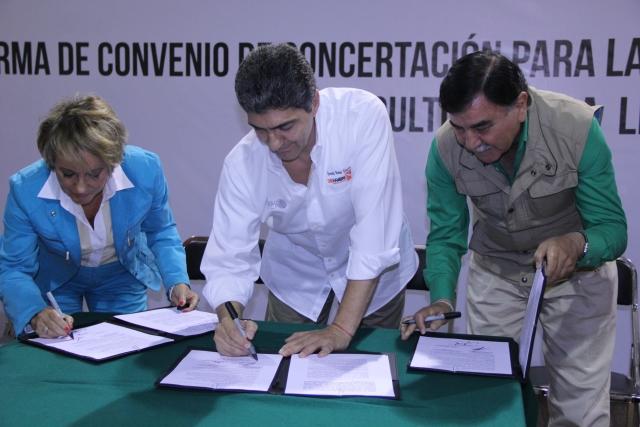Convenio Sedesol-Por lo Derecho A.C.