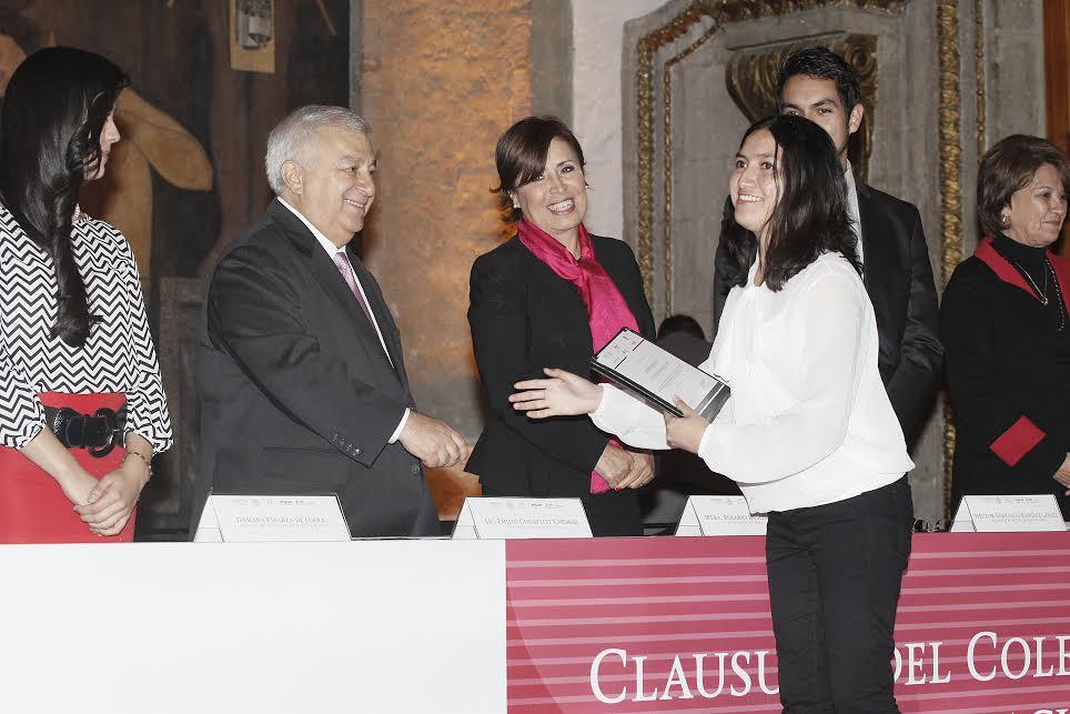 La secretaria de Desarrollo Social participó en la clausura del Colegio de la Globalización, Generación Octavio Paz 2014