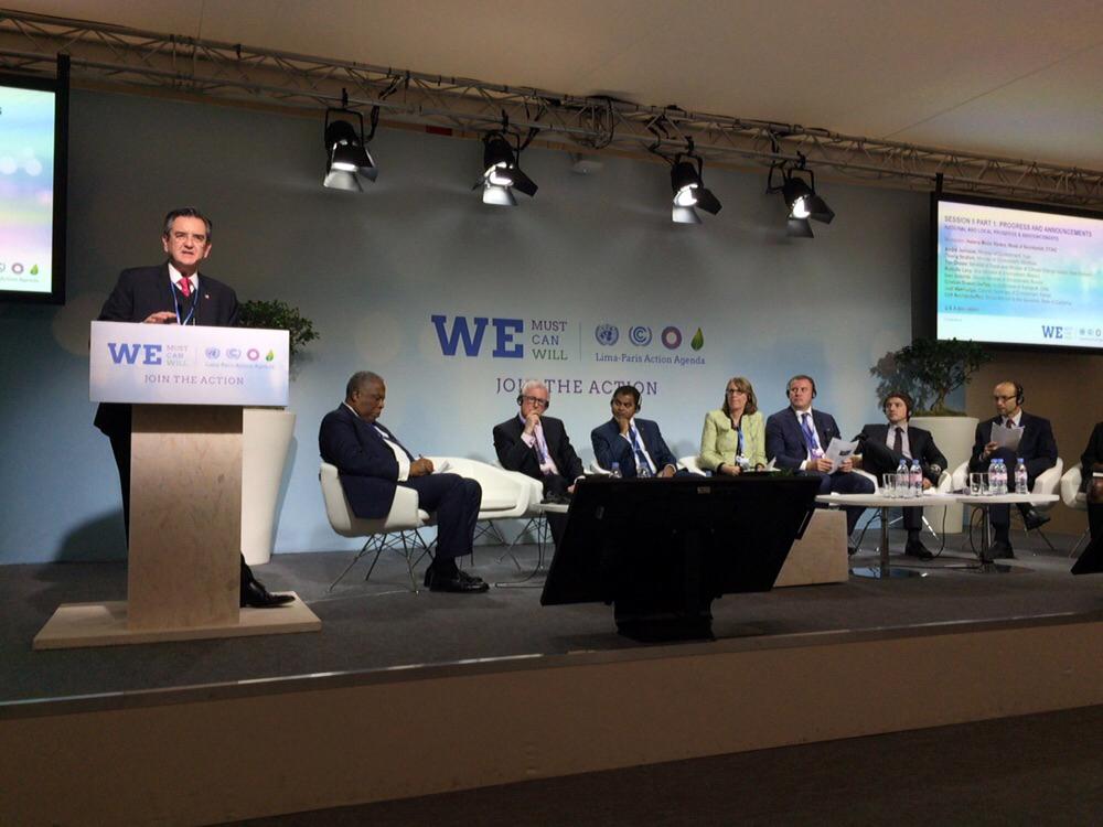 El Subsecretario, Rodolfo Lacy Tamayo expuso que el compromiso actual es reducir el 51% los contaminantes de vida corta para el 2030.