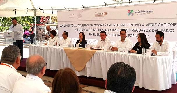 La COFEPRIS pide a BCS no bajar la guardia en la lucha contra los riesgos a la salud.