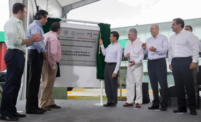 President EPN inaugurates the country's first Science and Technology Cluster.