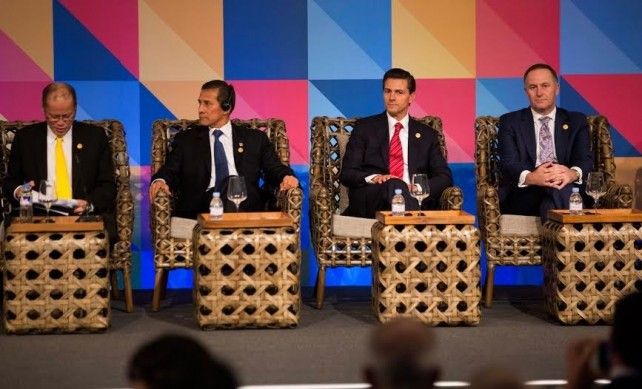 President Enrique Peña Nieto proposes institutionalizing dialogue between APEC and Pacific Alliance
