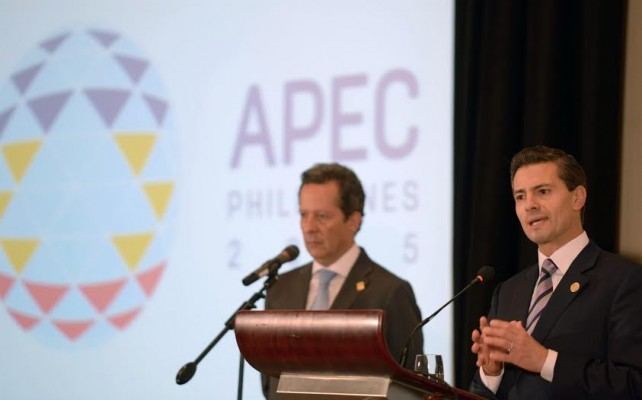 Press Statement by President EPN on his participation in the Asia-Pacific Economic Cooperation (APEC) Leaders' Meeting